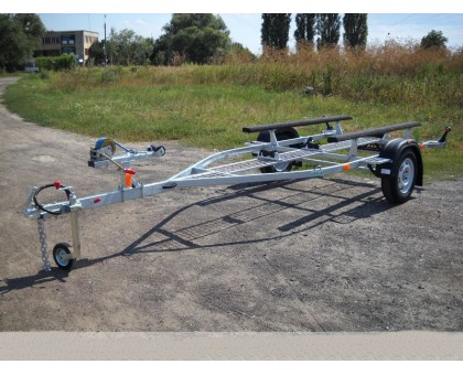 Прицеп для перевозки резиновых лодок класса RIB до 4,3 м